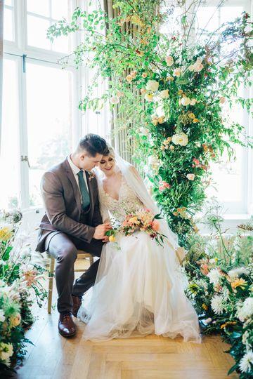 Statement wedding