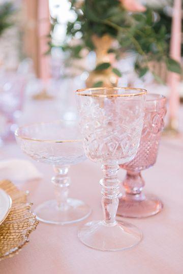 Luxury glassware