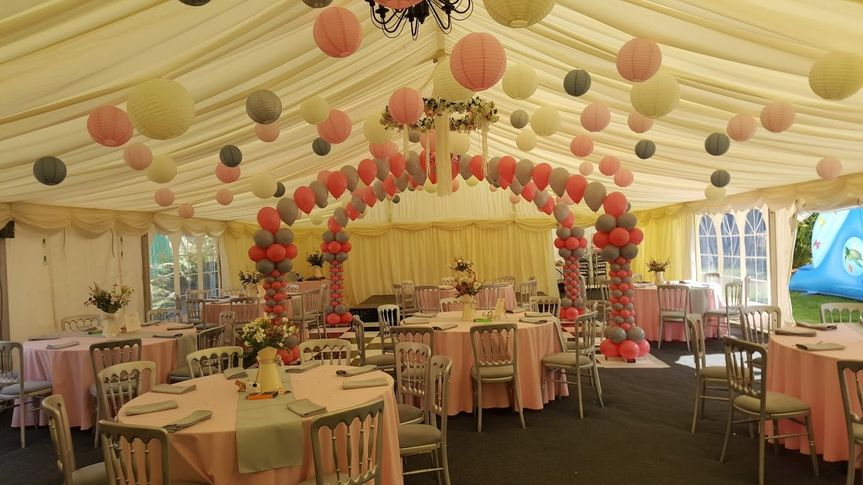 Marquee Decorated