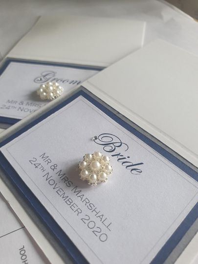Crafted Place cards