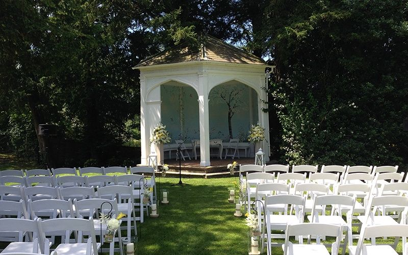 Summer House Ceremony at Wasing Park