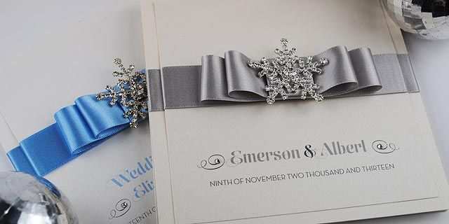 Snow Queen Invitation