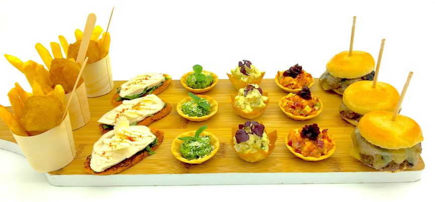 Canapes plate