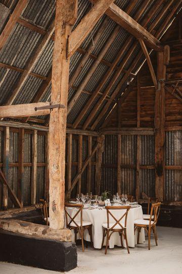 Inside Spring Farm Barn