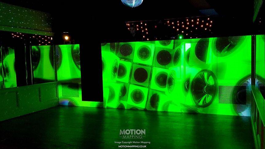 Decorative Hire Motion Mapping - Wedding Projection Mapping and VJ 14