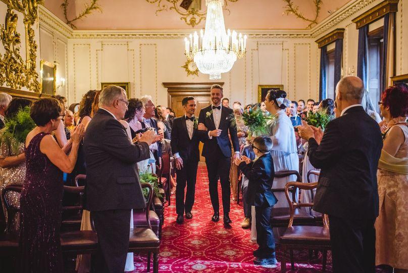 Court Room civil ceremony