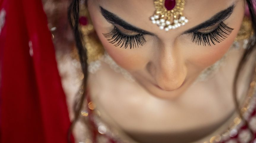 Bridal detail by Suraj Verma