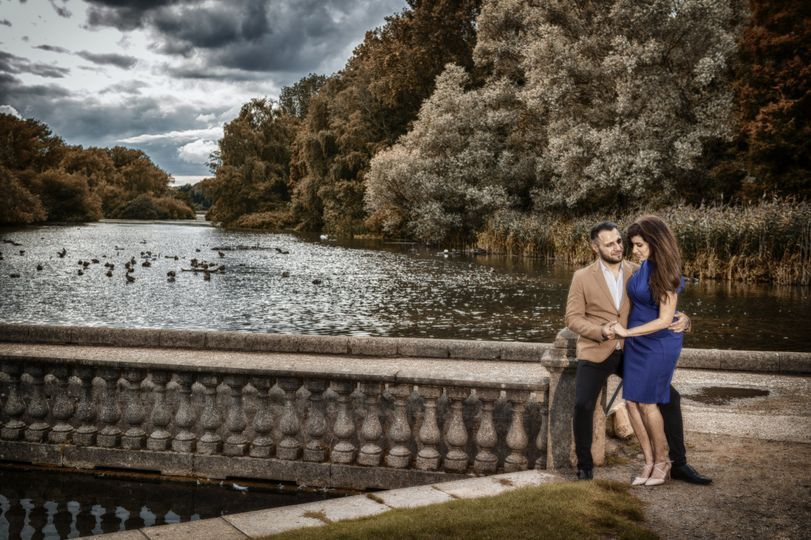 Engagement session Coombe Abbey