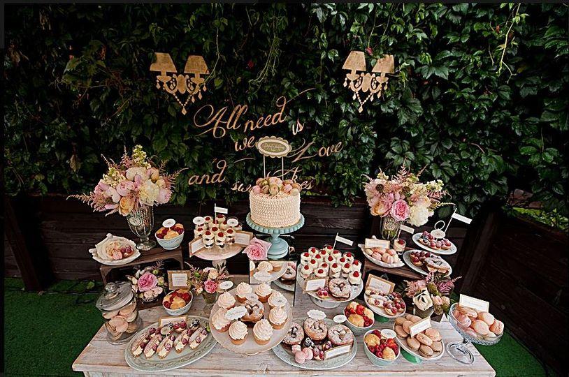 Mariage Fete Desserts