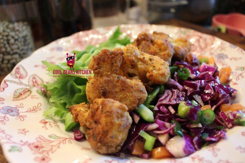 Kentucky Fried Cauliflower