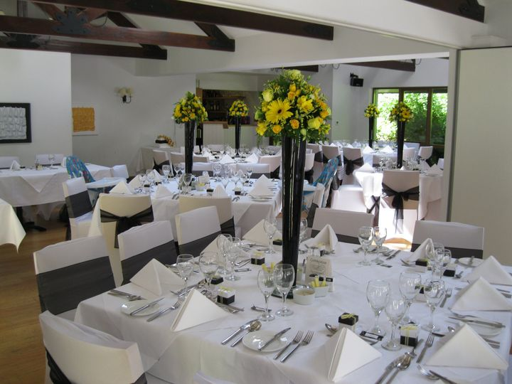 Wedding Breakfast in The Millstream Restaurant