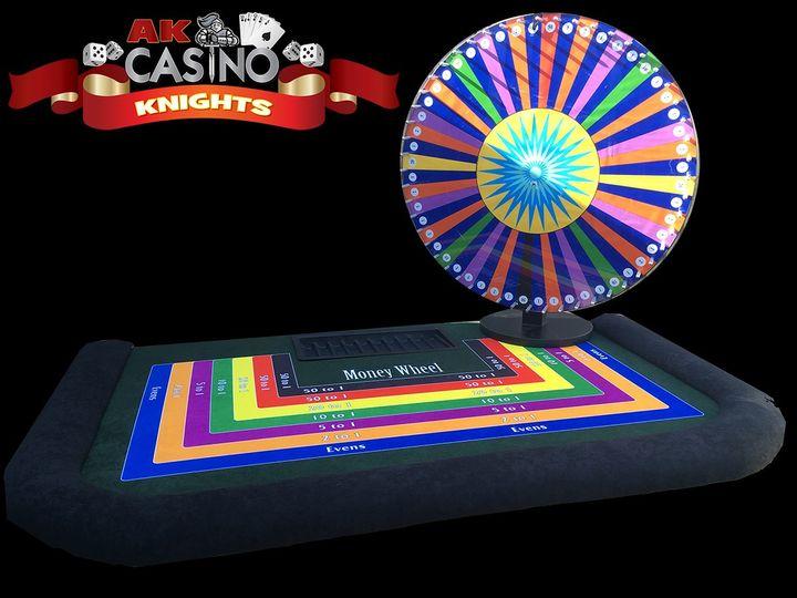A K Casino Knights wheel of