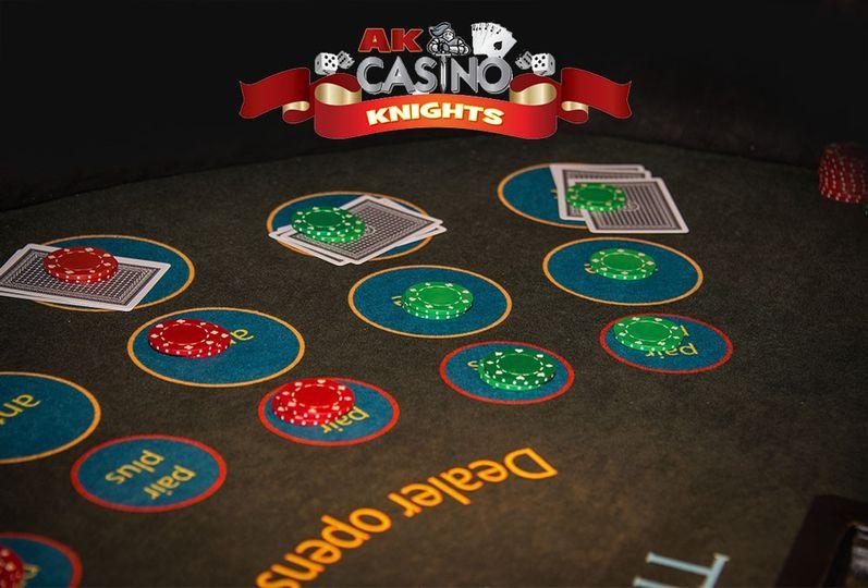 Three card poker at Ace King
