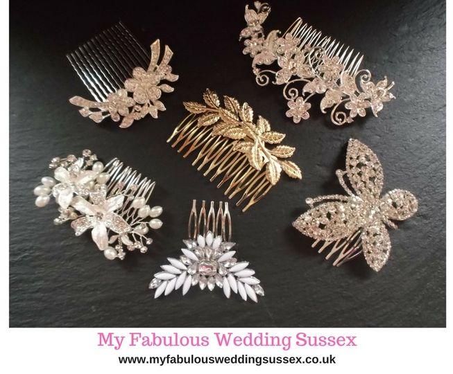 Assorted Wedding Hair Combs