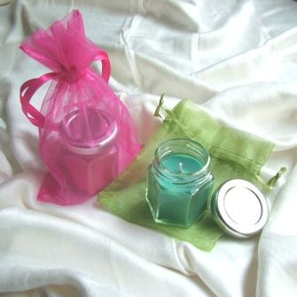 Handmade Candle with Designer Scent