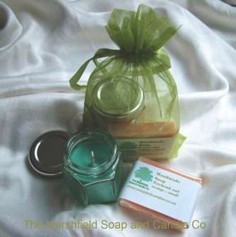 His and Hers Handmade Soap and Candle