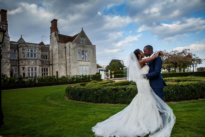 Picturesque wedding