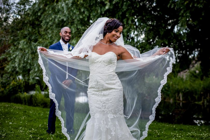 Showing off the veil