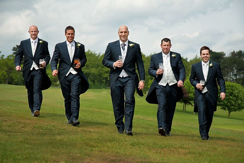 A Recent Groom's Party
