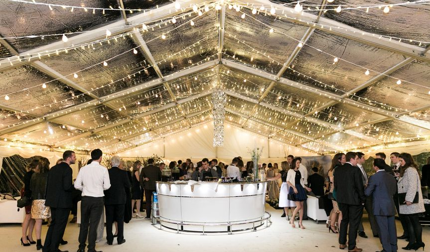 Clear Roof Marquee by Night!