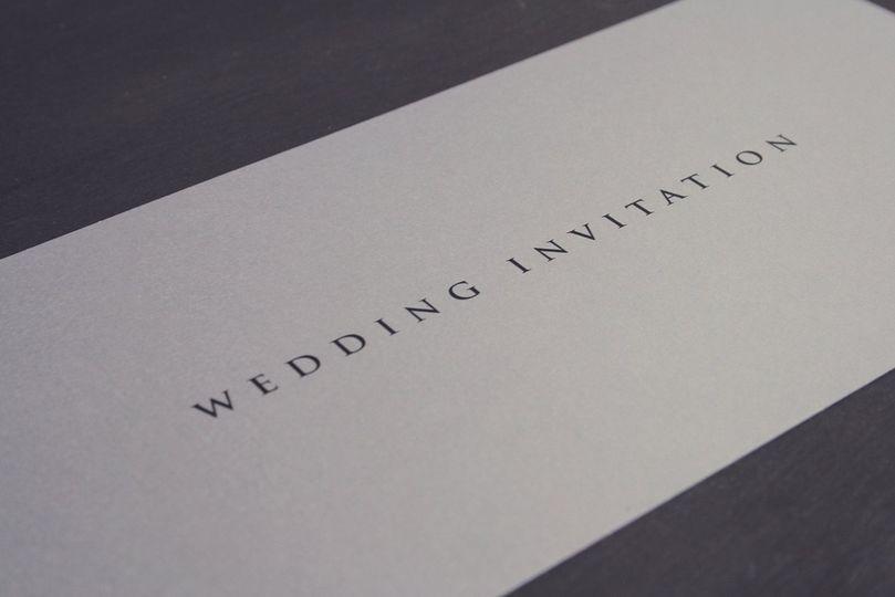 Invitation - Elegance