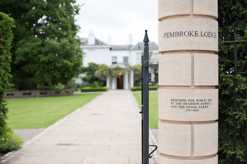 Pembroke Lodge main entrance