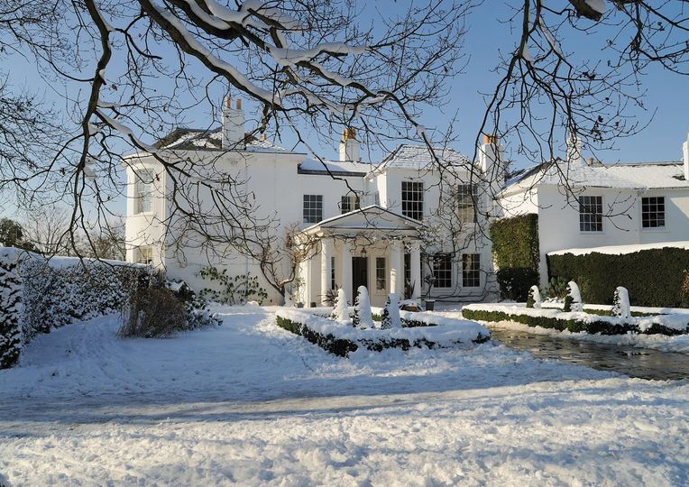 Winter at Pembroke Lodge