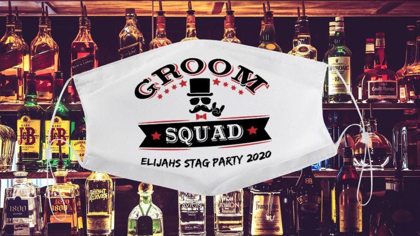 Groom squad mask