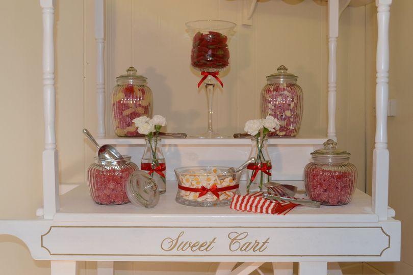 An assortment of jars
