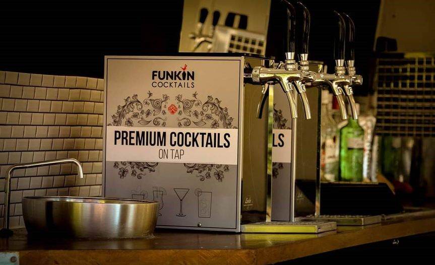 Cocktails, prosecco on tap