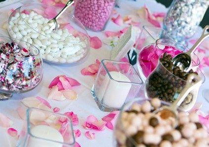 Beautiful sweet candy buffet