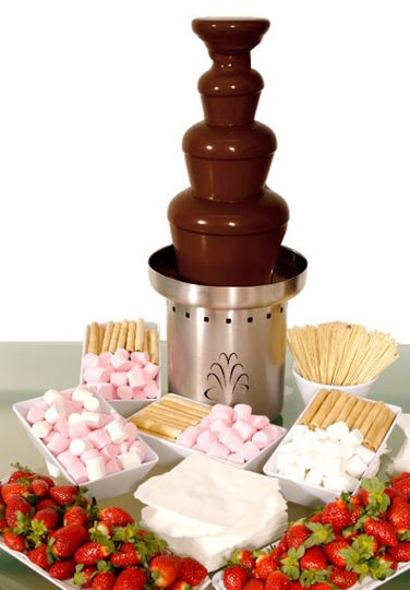 Fabulous chocolate fountain