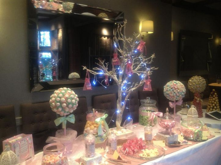 Stunning candy table