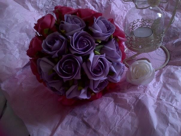 Lilac and summer pink