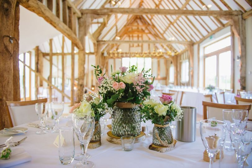 Celebration barn for wedding breakfasts and receptions