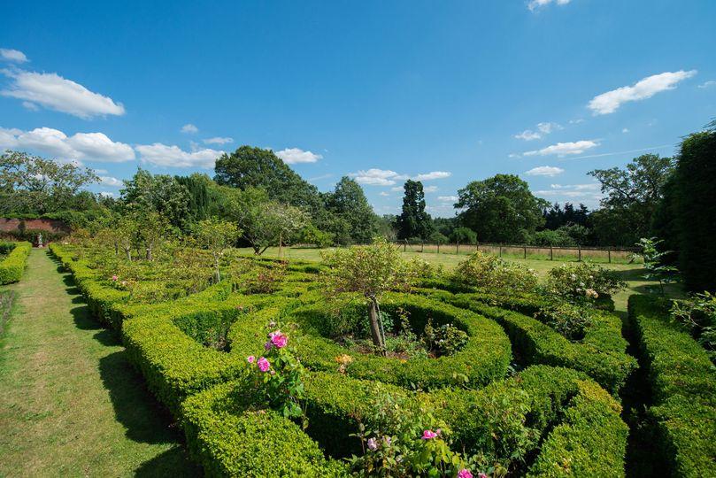 Severn Manor Rose Garden Maze