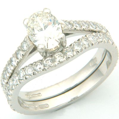 Diamond Fitted Wedding Ring