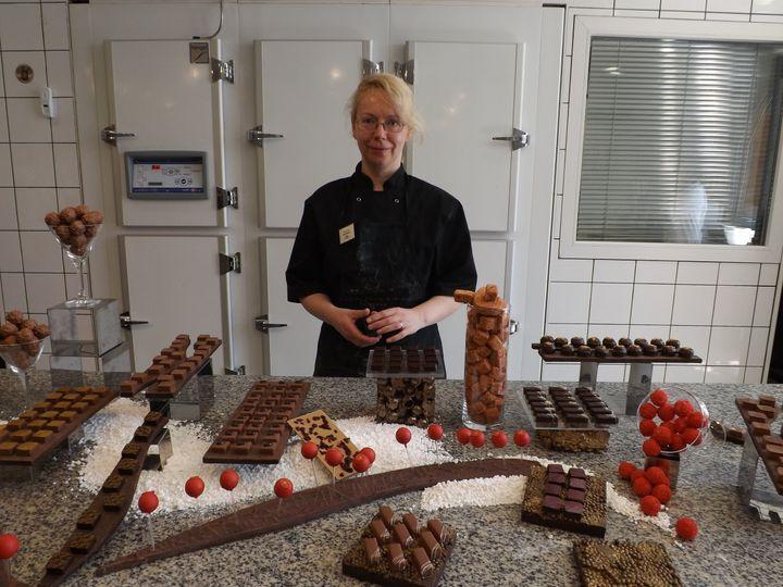 Suzanne our chocolatier