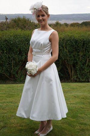 Fifties wedding gown-Linda