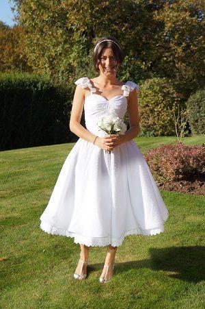 50s wedding dress-Summerville