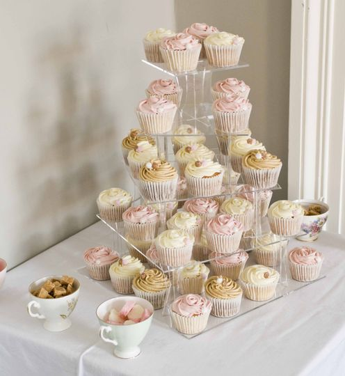 Small wedding Tier and Handmade Confectionery