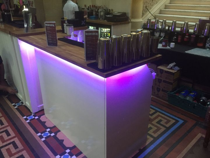 Our bespoke Cocktail bar