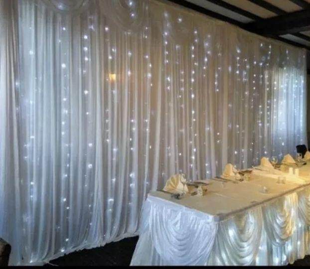 Table-skirting lights