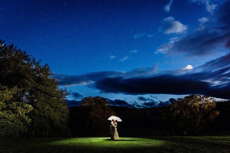 Ballogie House night sky - Photo credit @jameskellyphotography