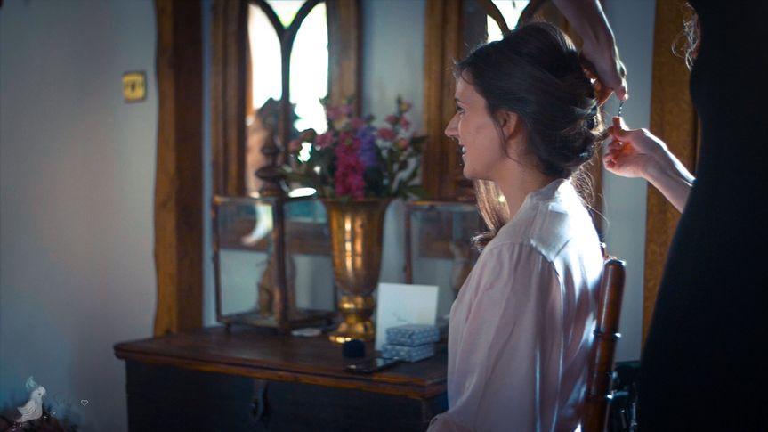 Bridal prep- wedding film