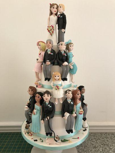 Wedding Party cake