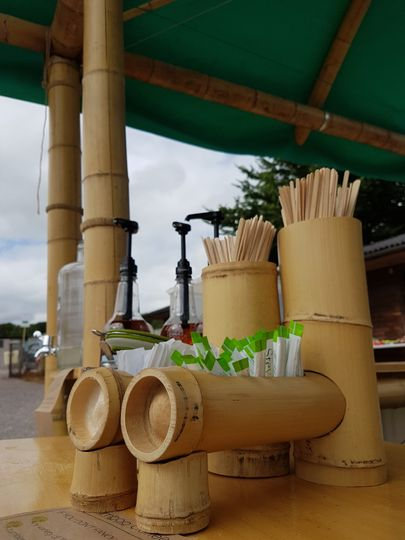 Sustainable Bamboo Coffee Bar