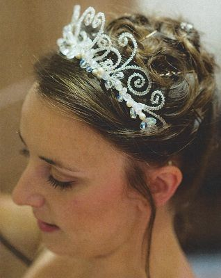 Jane Crofts wedding tiaras