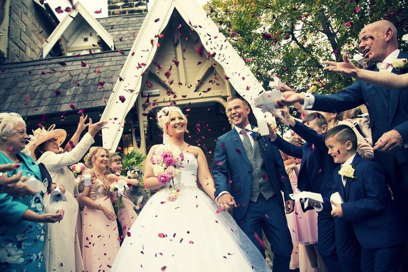 West Tower Aughton wedding