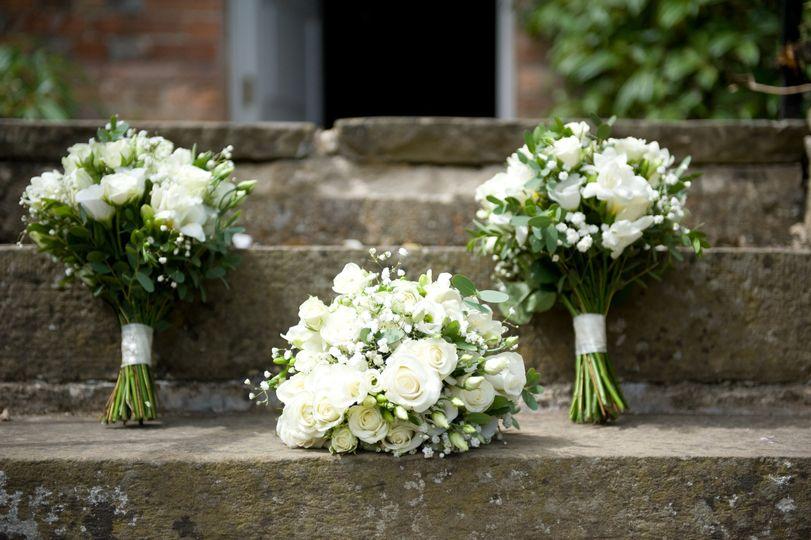 Bridal and Bridemsaid Bouquets